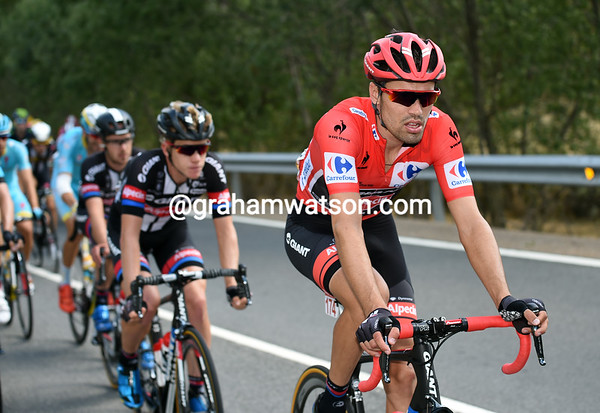 Tom Dumoulin is looking a shade tired today - has anyone else noticed..?