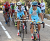 Ten minutes later, Mikel Landa has created a chase from the elite group...