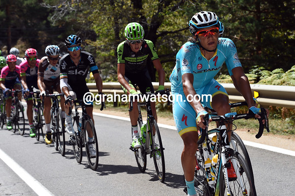 Astana has Andrey Zeits and Luis Leon Sanchez in the 29-man group - their role will become clearer later-on...