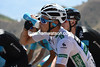Nicholas Roche gulps down water - is he Team Sky's main hope in the Vuelta..?