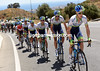 Cameron Meyer is the leader of OGE as the Mijas climb steepens...