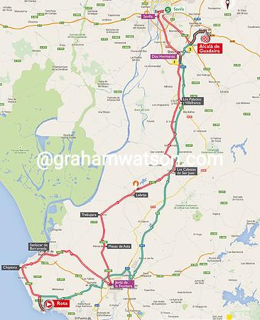 Vuelta a España stage 5: Rota > Alcala de Guadeira, 167kms