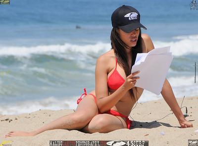 malibu zuma beautiful woman bikini model 1027,
