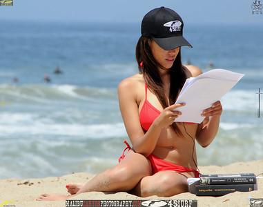 malibu zuma beautiful woman bikini model 1172..