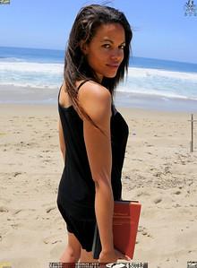malibu zuma beautiful woman bikini model 1415,..,