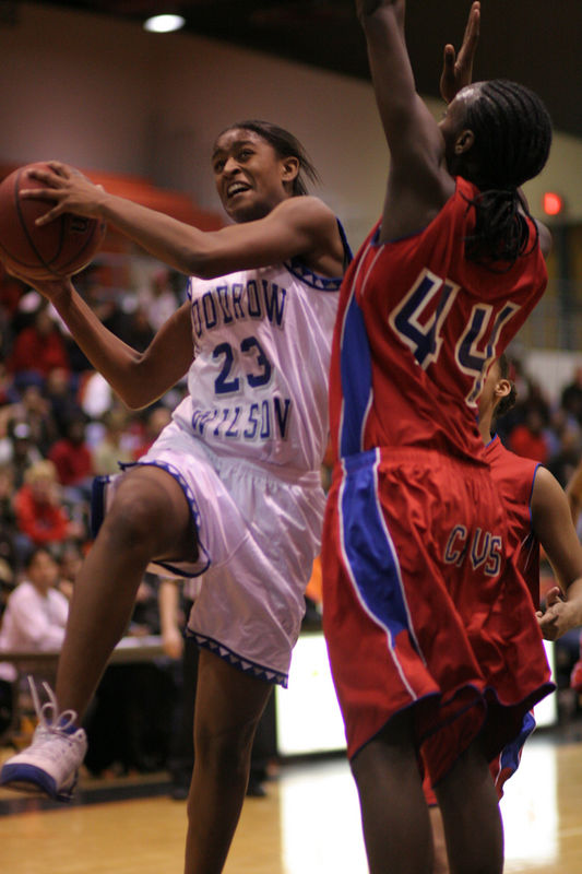One of the best Freshmen baskball players in the state, her Wilson High School basketball team lost to Princess Anne (PA) in the Regional Semi Finals.  PA went on to win the State Championship.