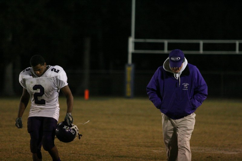 Half time of the Deep Creek Western Branch Game.