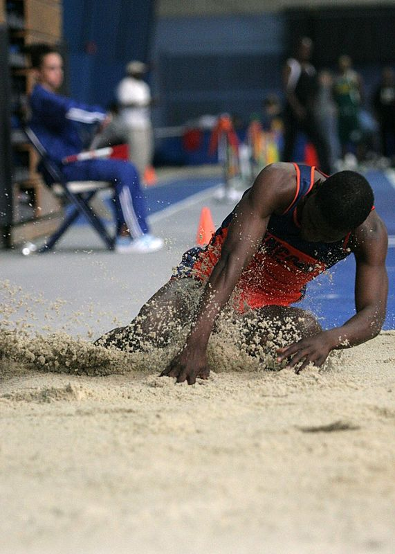 Triple jump and a pound of sand.