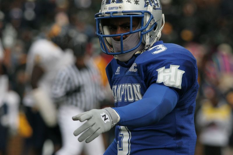 Best known as Number 3, leader of the MEAC Champions Hampton University 2004.