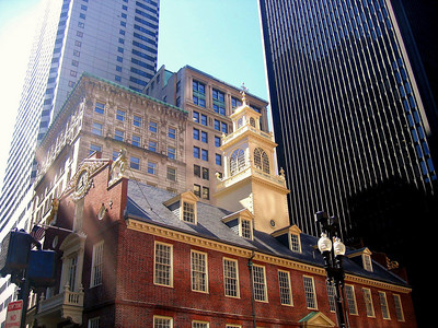 Old State House in Boston, Massachusettes.