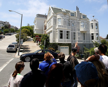 "Cow Hollow mansion.  Don Johnson used to own it when filming ""Nash Bridges."""