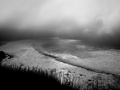 Fog on the Cove. Digital photograph. Available as print on paper or aluminum.