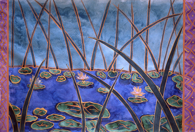 Pond with Waterlilies