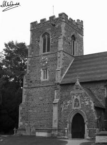 Black & White Church