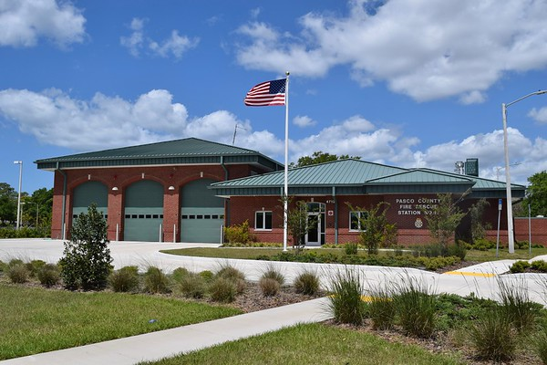 Pasco County, Florida - Holiday, Station 12.  Pasco County has 26 stations that cover over 750 square miles.