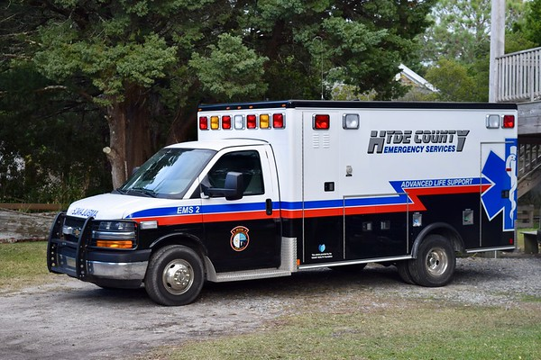 Hyde County EMS 2 is this Chevy ambulance - no other information available.
