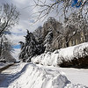The day after the big snow storm...Mar 13, 2014