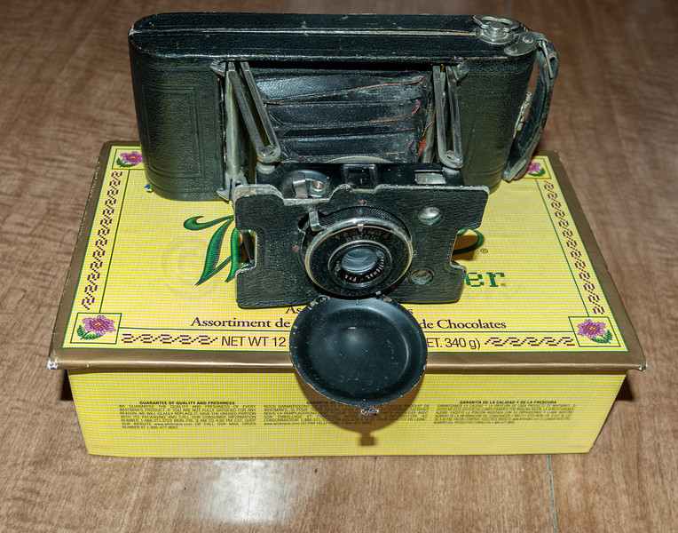 Grandpa's old Ansco Camera.