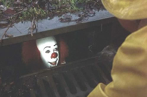 clown-in-sewer