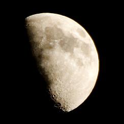 The Moon 2/3/2009