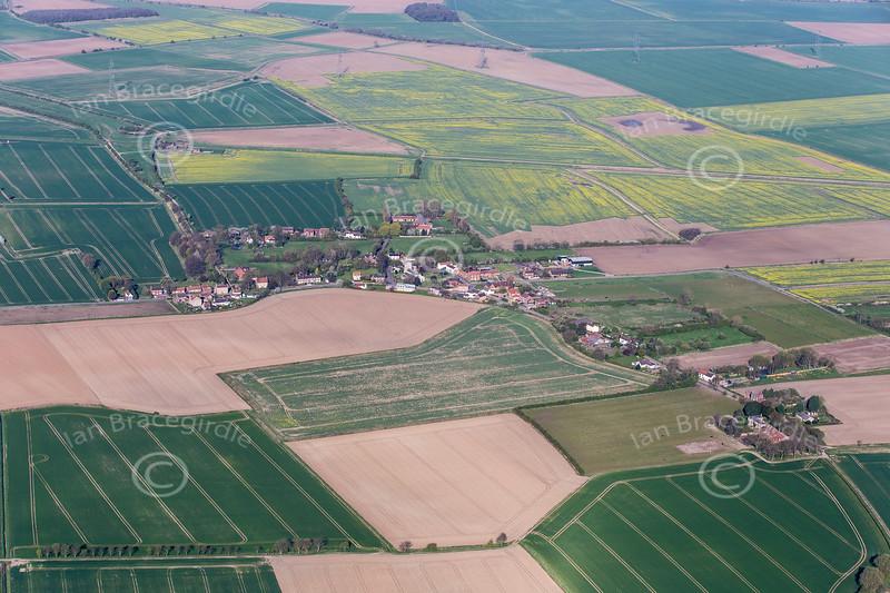 Aerial photo of Adlingfleet.