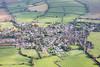 Aerial photo of Austrey.