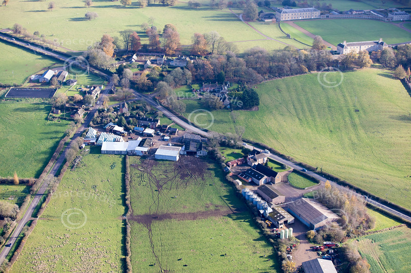 Aerial photo of Burley.