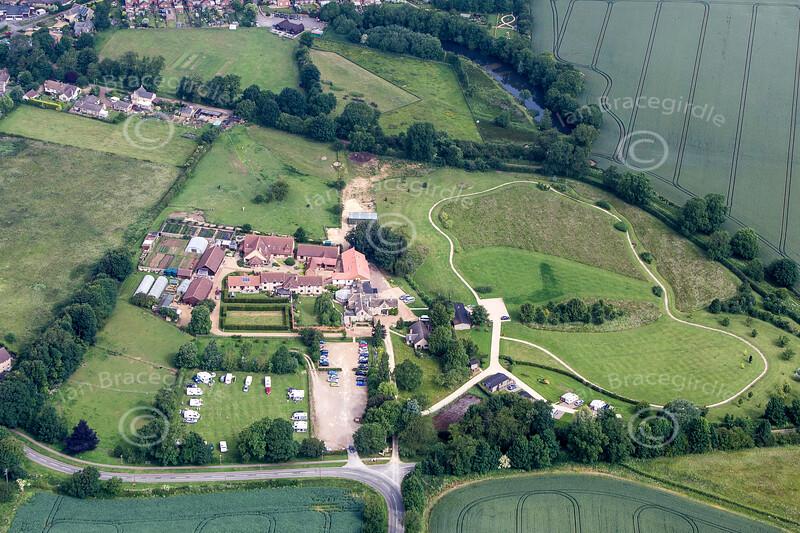Aerial photo of Cottesmoor