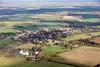 Aerial photo of Empingham.