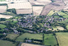 Aerial photo of Foxton in Leicestershire.