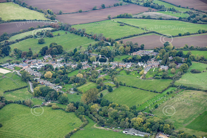 Aerial photo of Keyham.