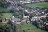 Aerial photo of Newbold Verdon.