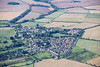 Aerial photo of North Luffenham in Rutland.