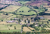 Aerial photo of Warkton in Leicestershire.
