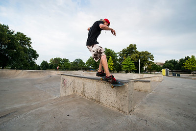 Frontside Smith on the Ledge | Spencer, IA
