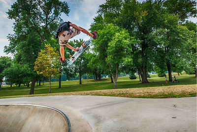 Kickflip to Indy Grab Exit | Spencer, IA