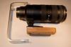Nikon 70-200mm VRII grip and flash bracket