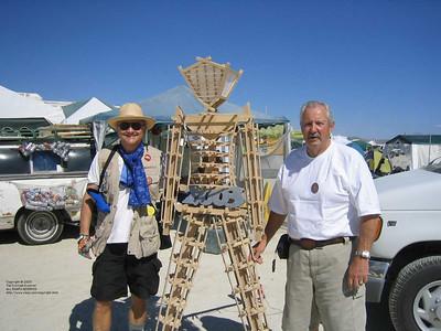 Other men - Burning Man 2003