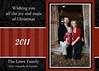 Lowe  Red Stripe 5x7card