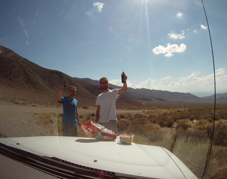 Cheers to the middle of nowhere!