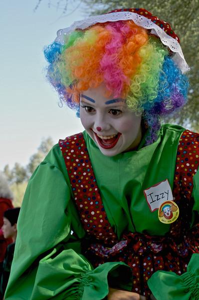 Izzy the clown