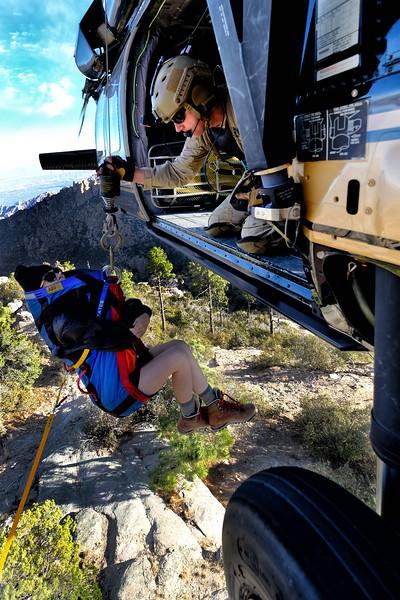 CBP AMO Hoist Rescue