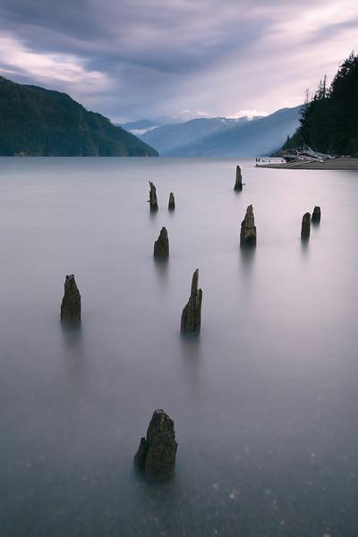 Peaceful Comox Lake