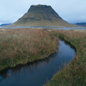 Following lines. Kirkjufell, Iceland
