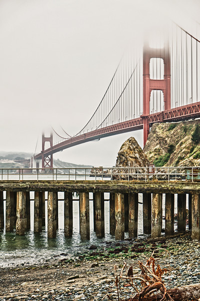 Golden Gate from Horseshoe Bay