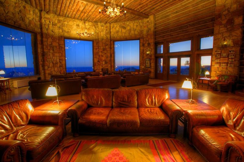 North Rim Sun Room in the evening