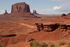 Monument Valley.<br /> John Ford point (named after the famous director who shot several movies here).<br /> Photo was taken by the Navaho guide.
