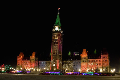 Christmas on Parliament Hill