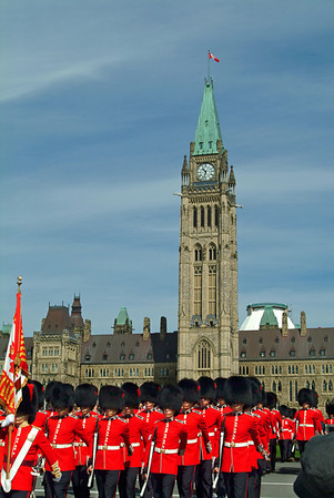 Changing of the Guard, Parliament Hill