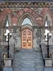 Door in Parliament Buildings, Ottawa